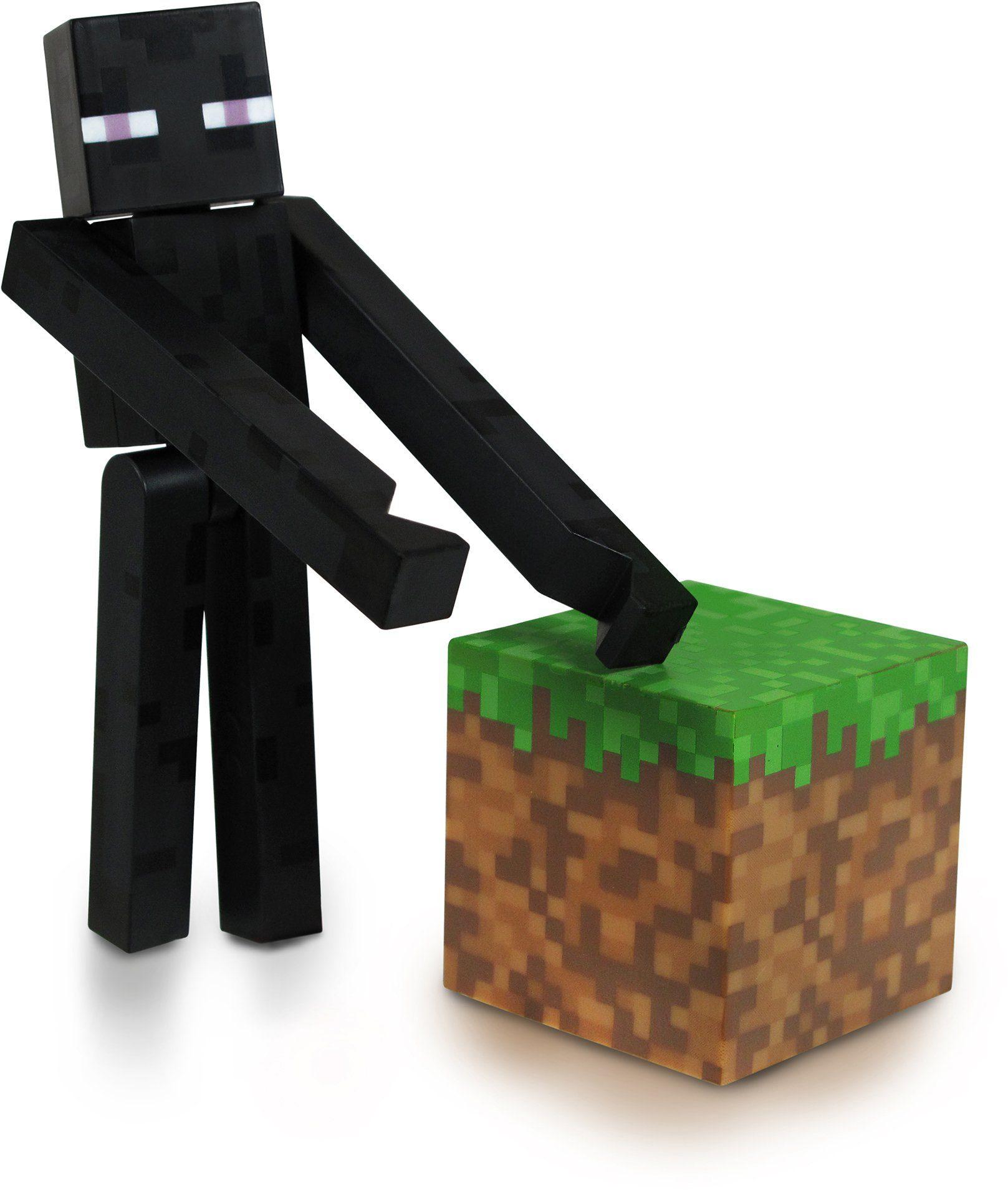 Spielfigur, »Minecraft, Endermann mit Accessoire«