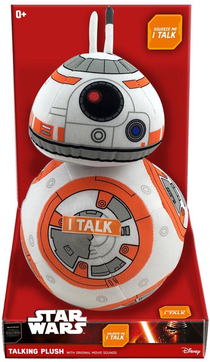Plüschfigur mit Sound, »Disney Star Wars™, Premium, BB-8, ca. 30 cm«