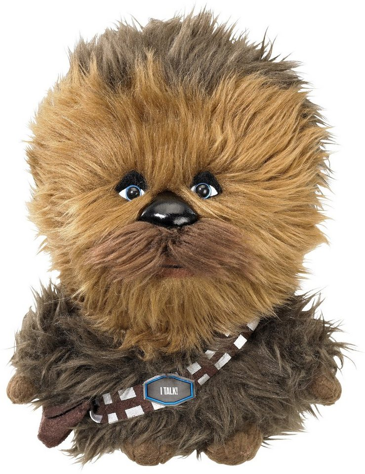 Plüschfigur mit Sound, »Disney Star Wars™, Chewbacca, ca. 23 cm« in braun