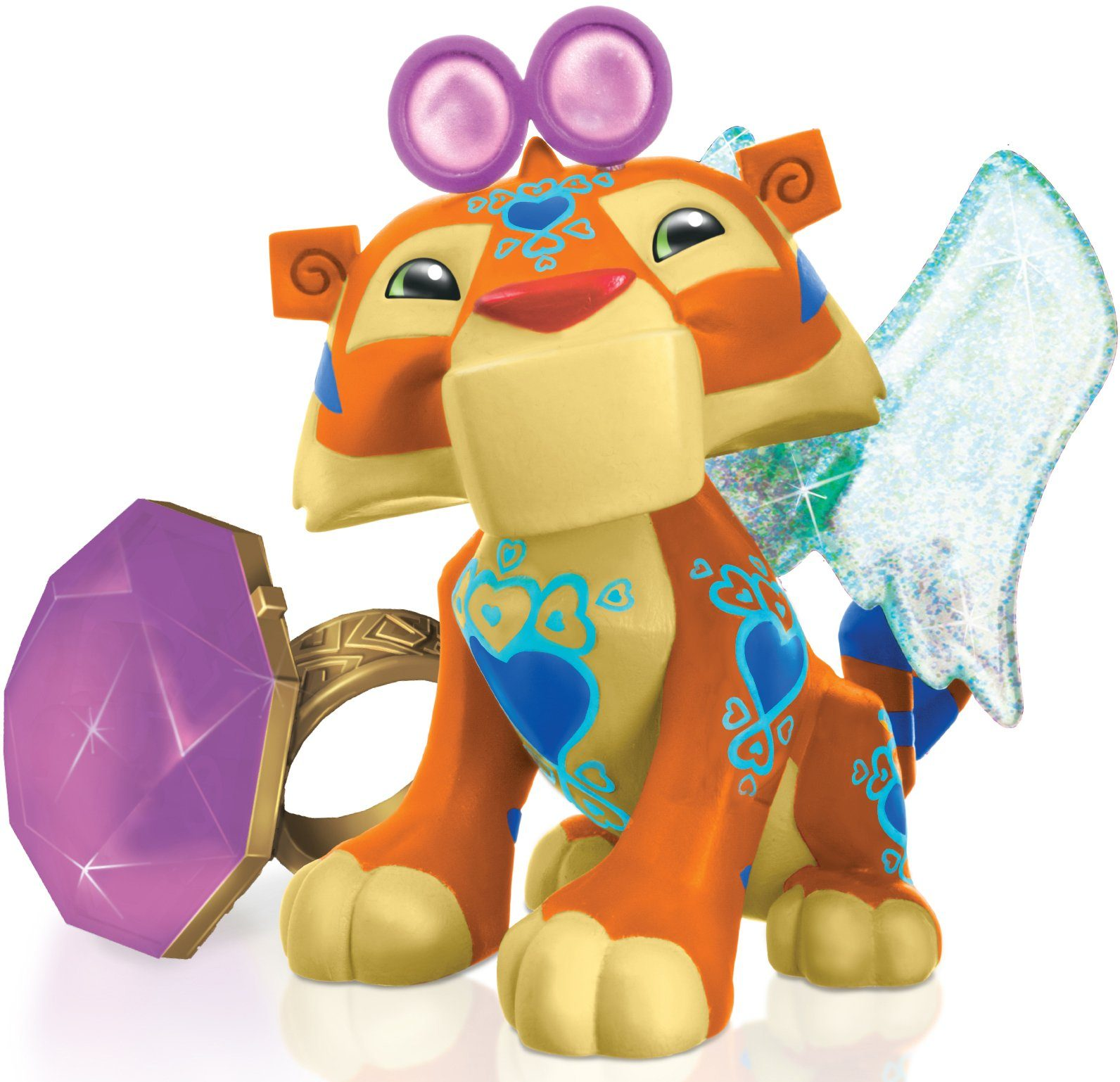 Spielfigur, »Animal Jam, Tiger mit Ring«