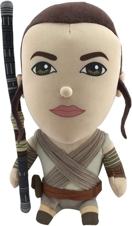 Plüschfigur mit Sound, »Disney Star Wars™, Rey, ca. 23 cm« in Farbig