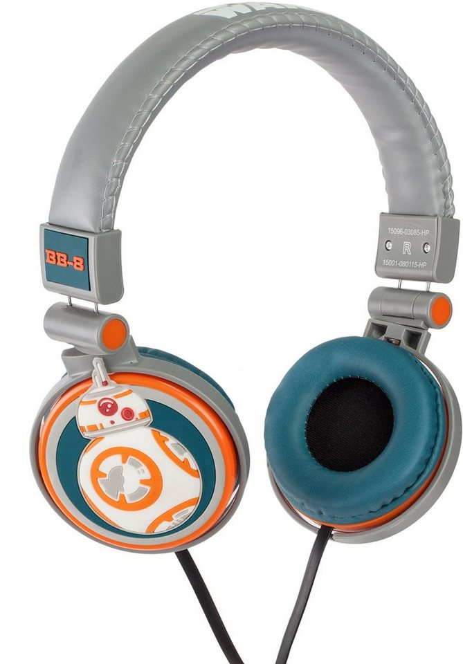 Kopfhörer, »Disney Star Wars™, BB8« in Orange/ Weiß