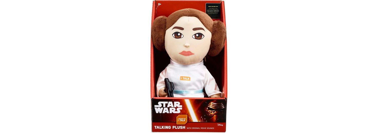Plüschfigur mit Sound, »Disney Star Wars™ Collectors Edition, Leia, ca 23 cm«
