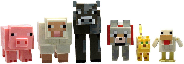 Spielfiguren Set, »Minecraft, Multipack Tiere«