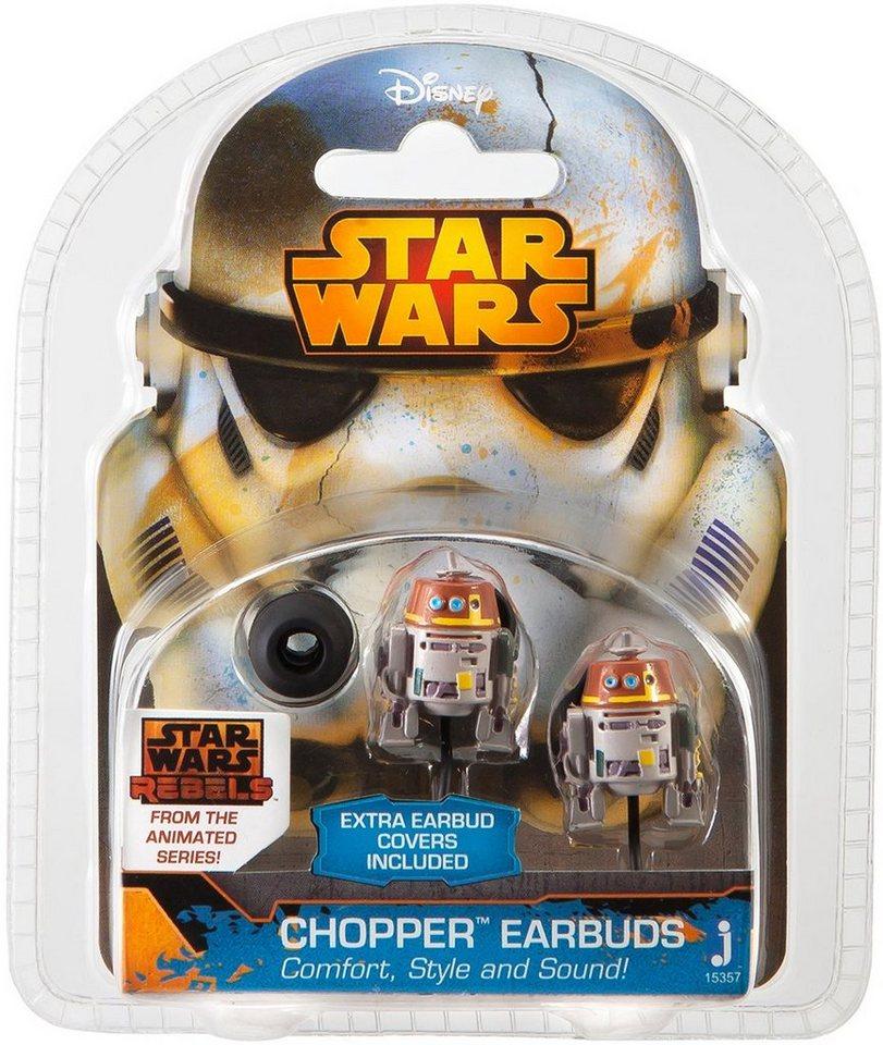 In Ear Kopfhörer, »Disney Star Wars™ Rebels, Chopper« in Grau/ Braun