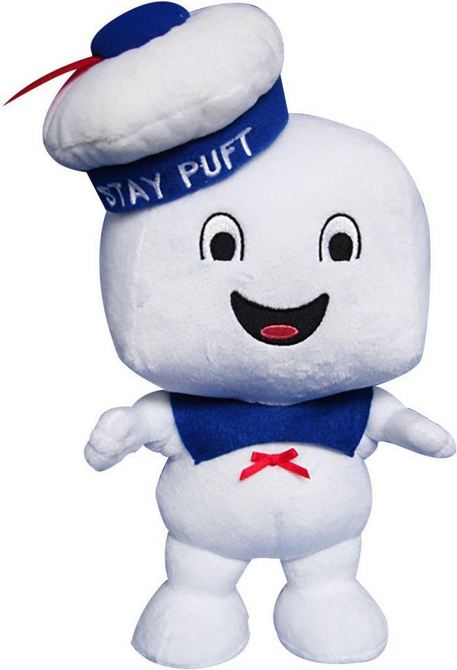 Plüschfigur mit Sound, »Ghostbusters, Medium Stay Puft Happy, ca. 23 cm« in Weiß