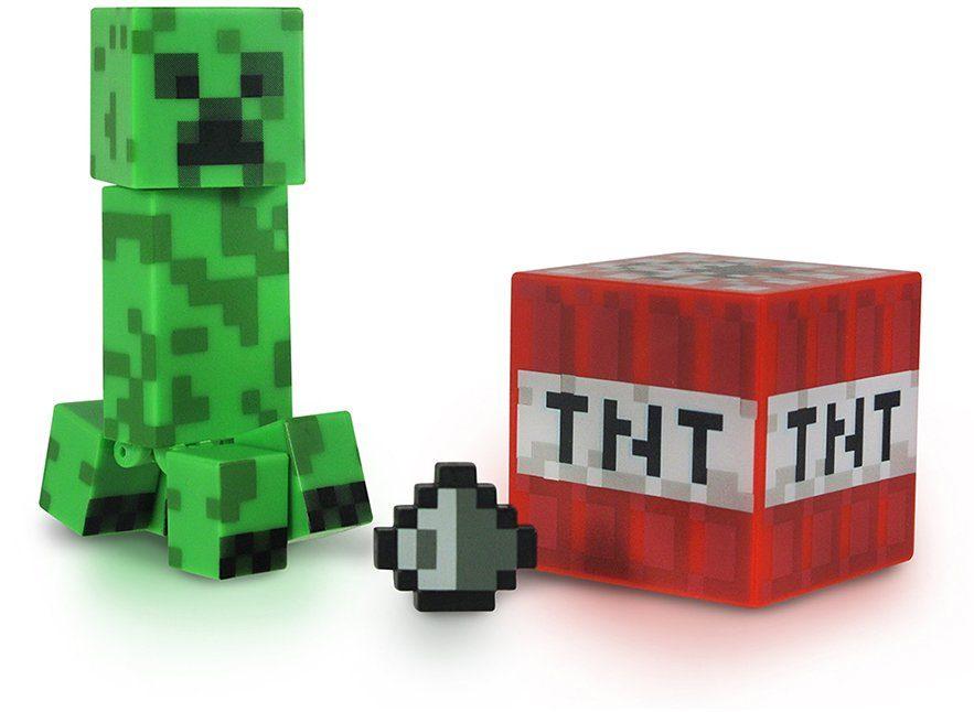 Spielfigur, »Minecraft, Serie 1, Creeper mit Accessoire«