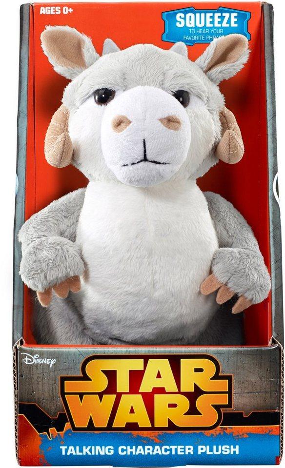 Plüschfigur mit Sound, »Disney Star Wars™ Collectors Edition, TaunTaun, ca. 23 cm« in Weiß/ Grau