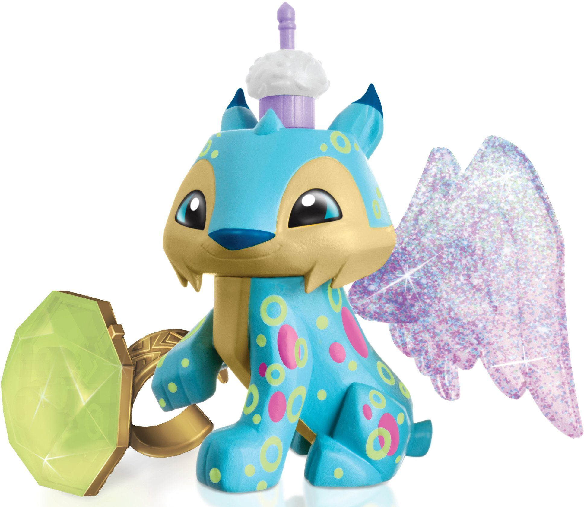 Spielfigur, »Animal Jam, Luchs + Ring«