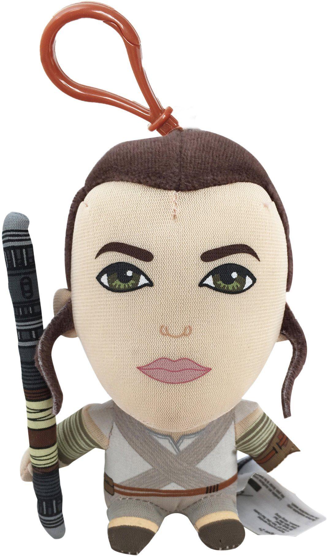 Plüschfigur mit Sound und Anhänger, »Disney Star Wars™, Rey, ca. 14 cm«