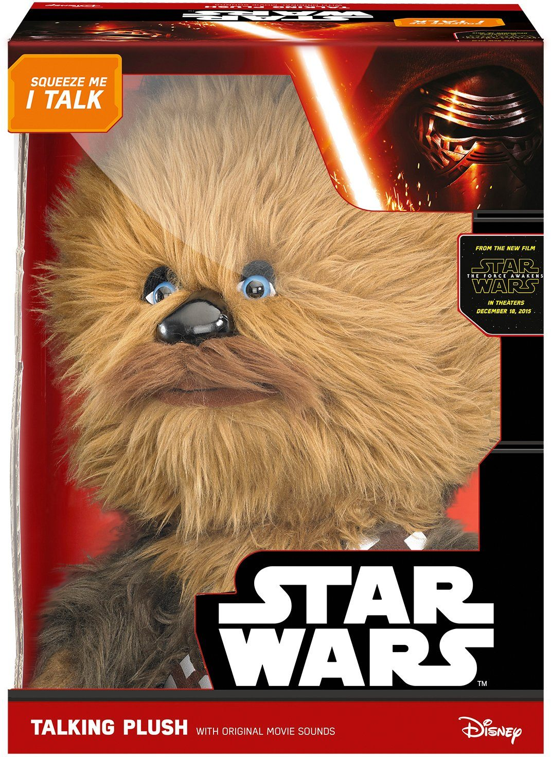 Plüschfigur mit Sound, »Disney Star Wars™, Deluxe, Chewbacca, ca. 38 cm«