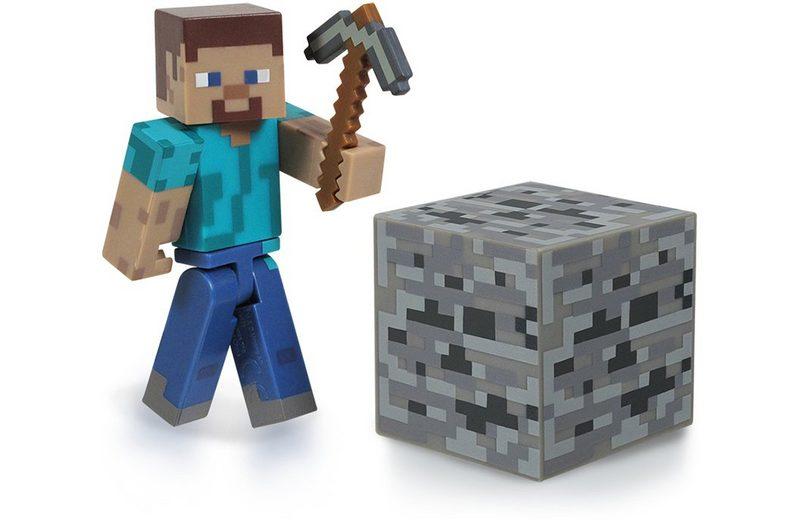 Spielfigur, »Minecraft, Steve mit Accessoire«