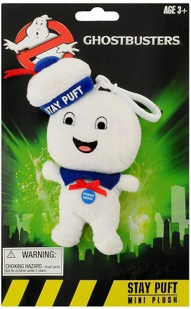 Plüschfigur mit Sound, »Ghostbusters, Mini Stay Puft Happy, ca. 13 cm« in Weiß
