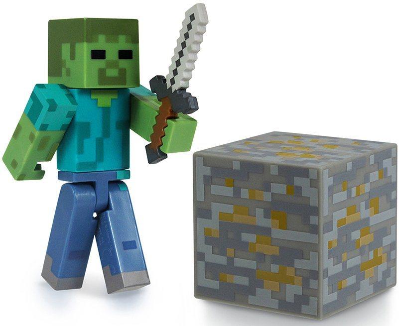 Spielfigur, »Minecraft, Serie 1, Zombie mit Accessoire«