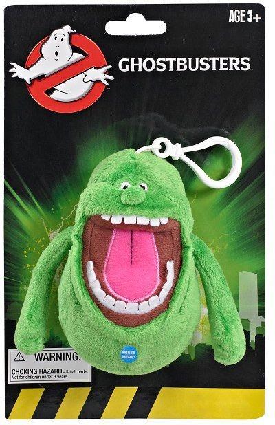 Plüschfigur mit Sound, »Ghostbusters, Mini Slimer, ca. 11 cm« in Grün