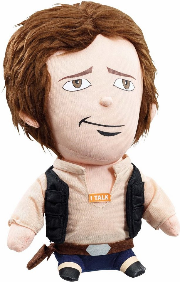 Plüschfigur mit Sound, »Disney Star Wars™ Collectors Edition, Han Solo, ca. 23 cm« in Farbig
