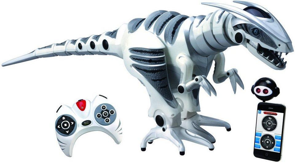 WowWee RC Roboter Dinosaurier, »ROBORAPTOR X« in Weiß/ Grau