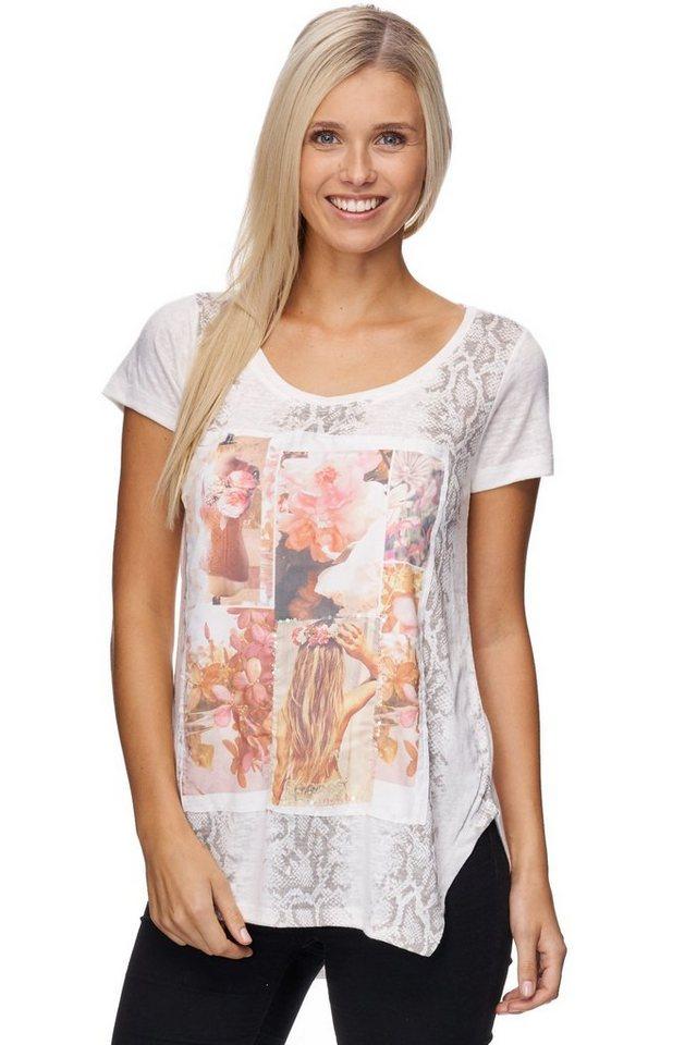Decay T-Shirt in wollweiß