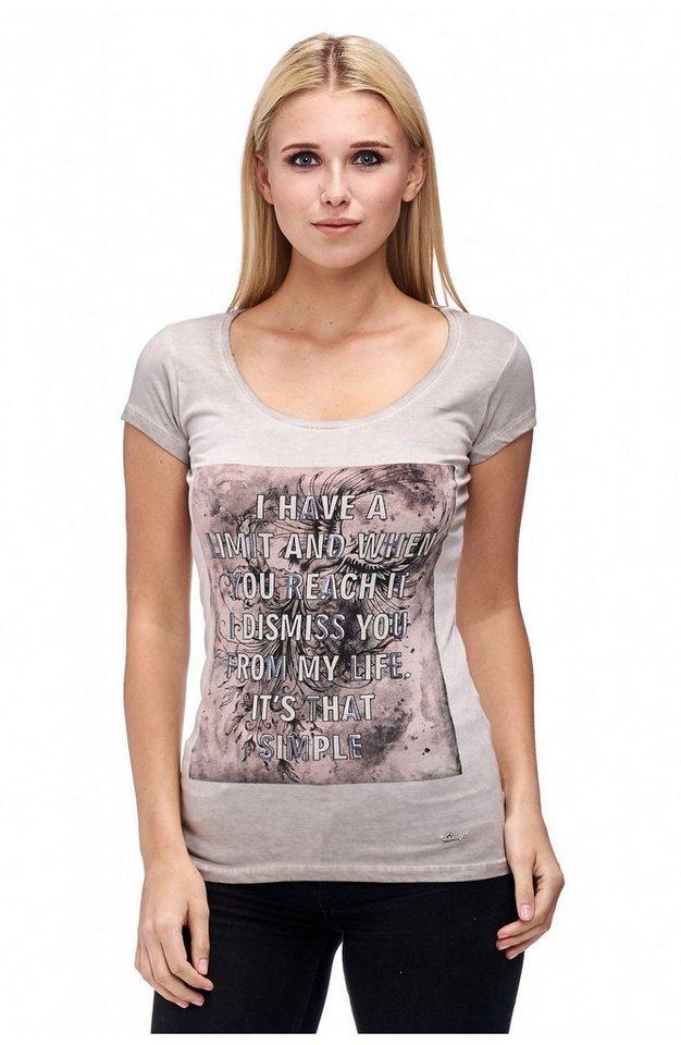 Decay T-Shirt in hellgrau