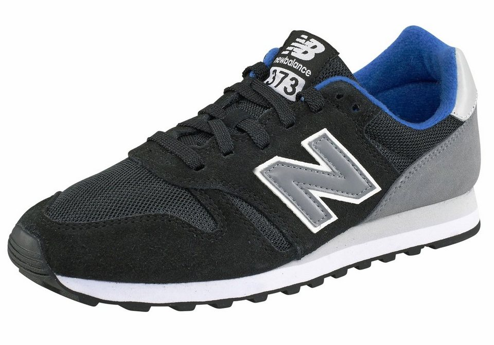 New Balance »ML373« Sneaker in schwarz-royalblau