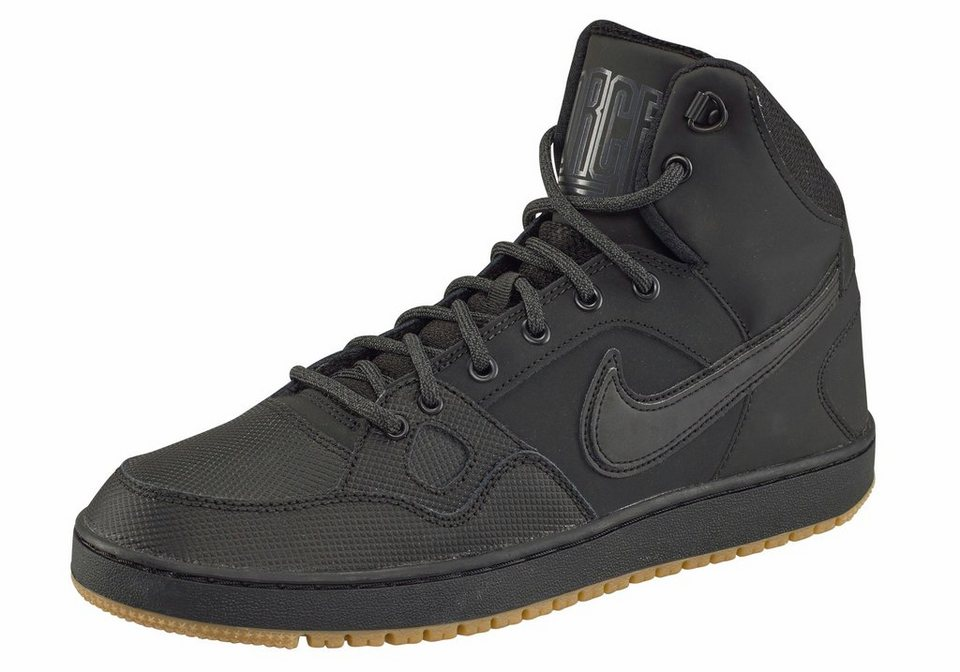 Nike »Son of Force Mid Winter« Sneaker in schwarz