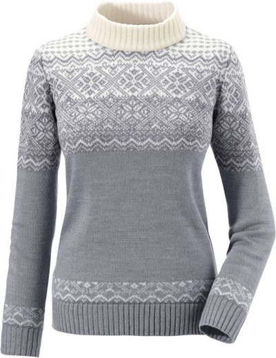 Collection L. Pullover mit aktuellem Norwegermuster