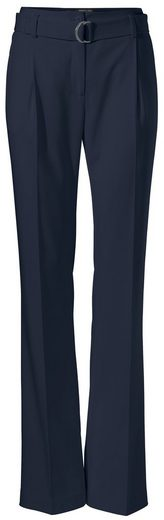 Patrizia Dini By Heine Pleated Trousers Iron Fold