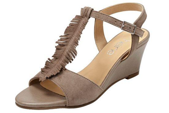 Heine Wedge Sandale