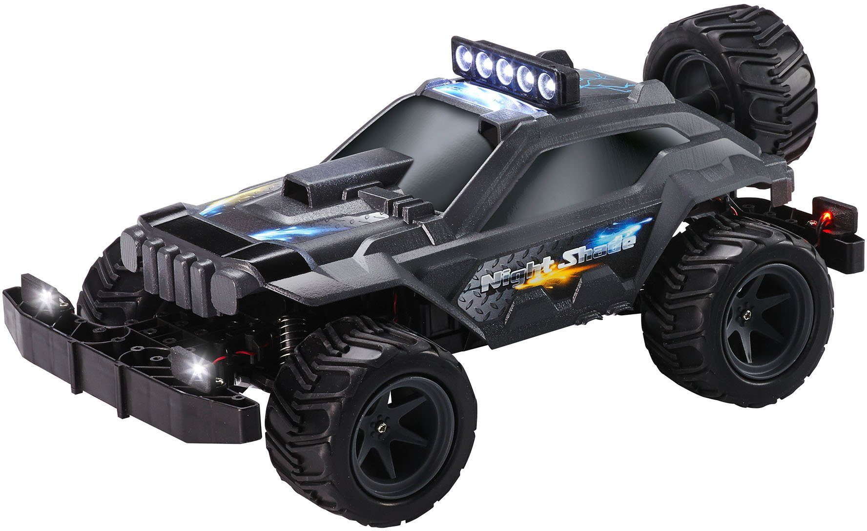 Revell RC Auto mit Licht, »Offroader Night Shade 2,4 GHz«