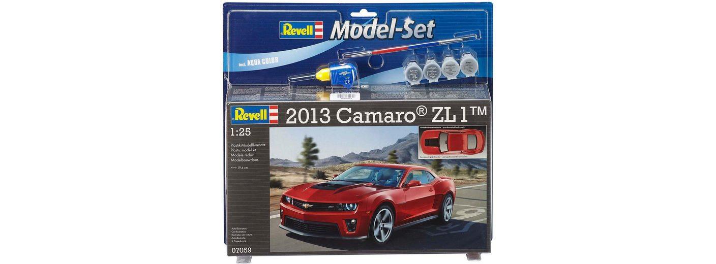 Revell Modellbausatz mit Zubehör, Maßstab 1:24, »Model Set, Chevrolet Camaro 2013 ZL1«