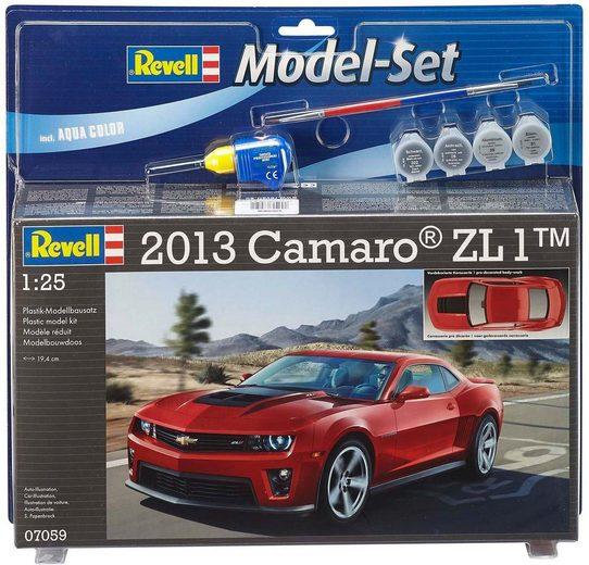 Revell Modellbausatz mit Аксессуар, Maßstab 1:24, »Model Set, Chevrolet Camaro 2013 ZL1«