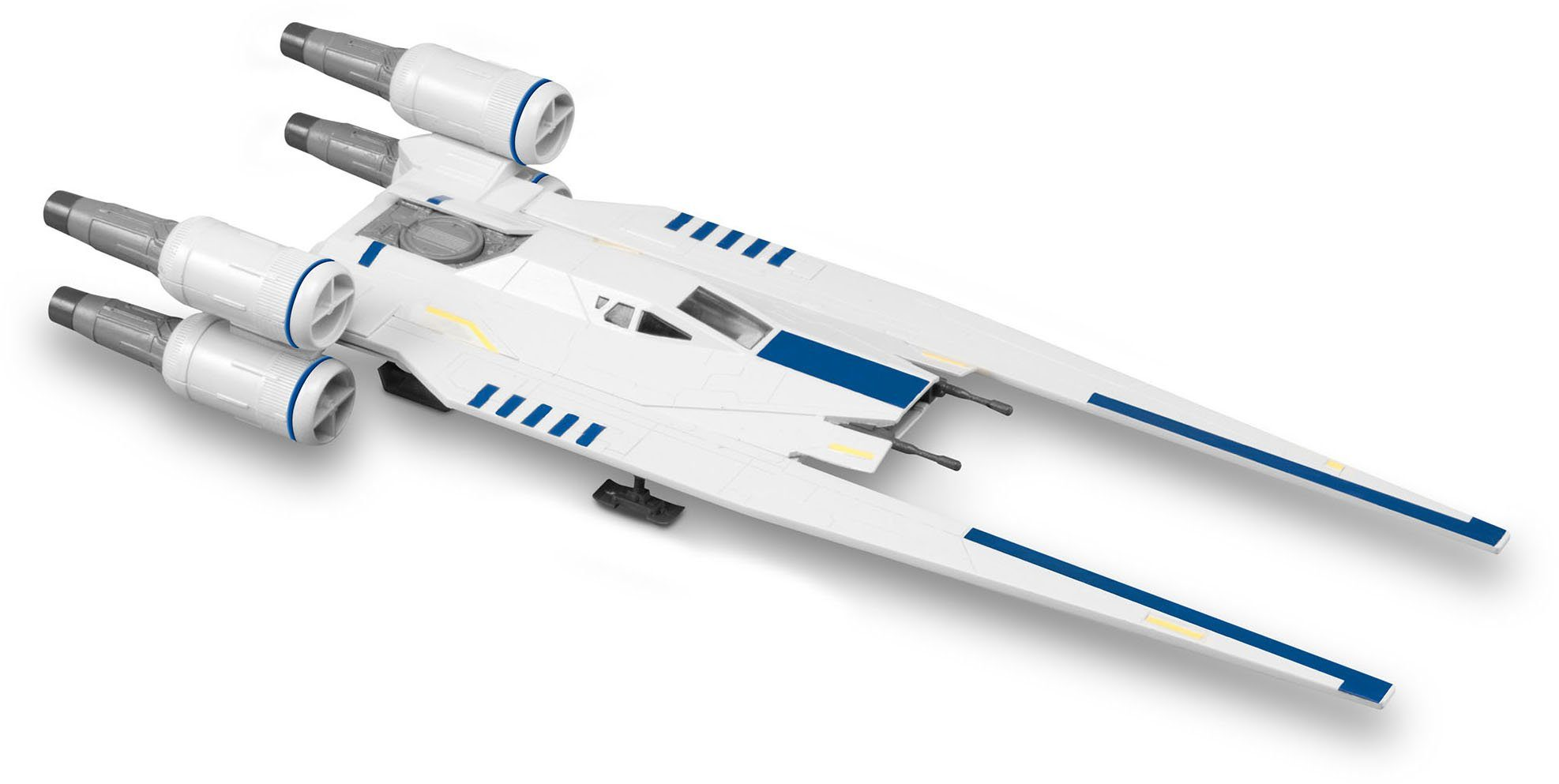Revell Modellbausatz mit Licht/Soundeffekten, »Build & Play, Disney Star Wars, Rebel U-Wing Fighter«