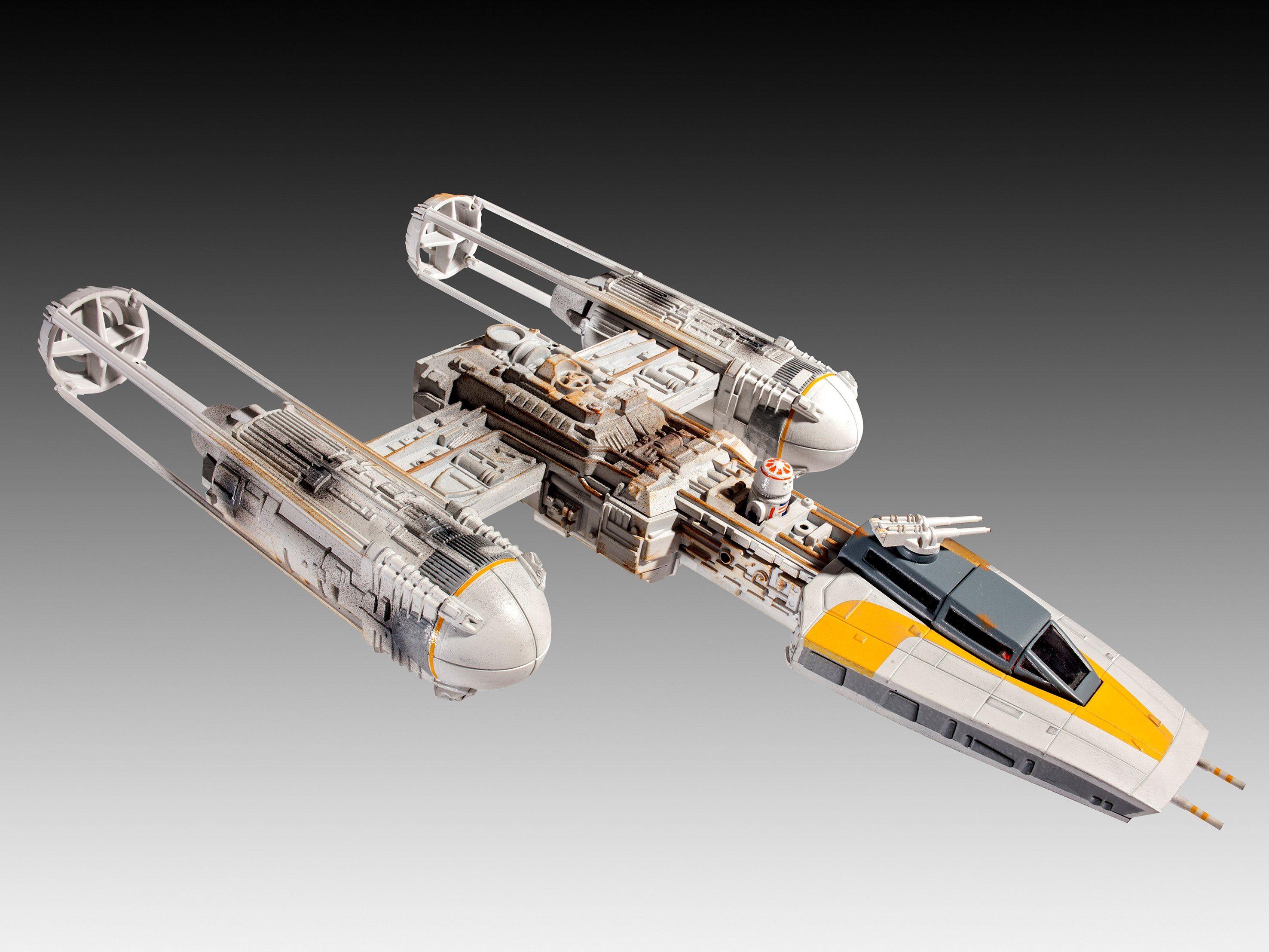 Revell Modellbausatz zum Stecken, »Easykit, Disney Star Wars, Y-Wing Fighter«