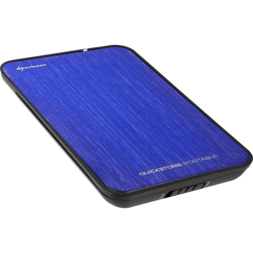 "Sharkoon Laufwerksgehäuse »QuickStore portable 2,5""«"