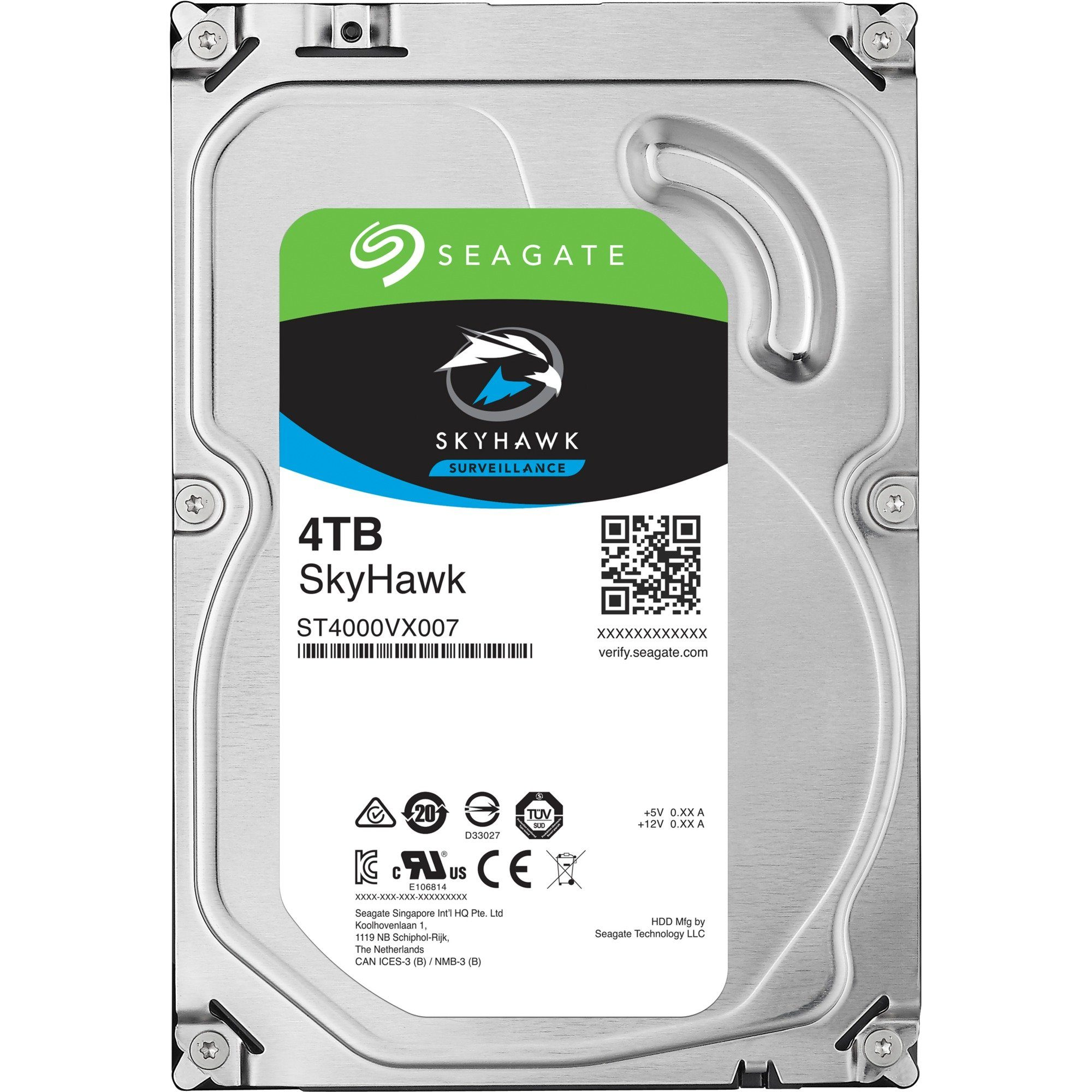 Seagate Festplatte »ST4000VX007 4 TB«