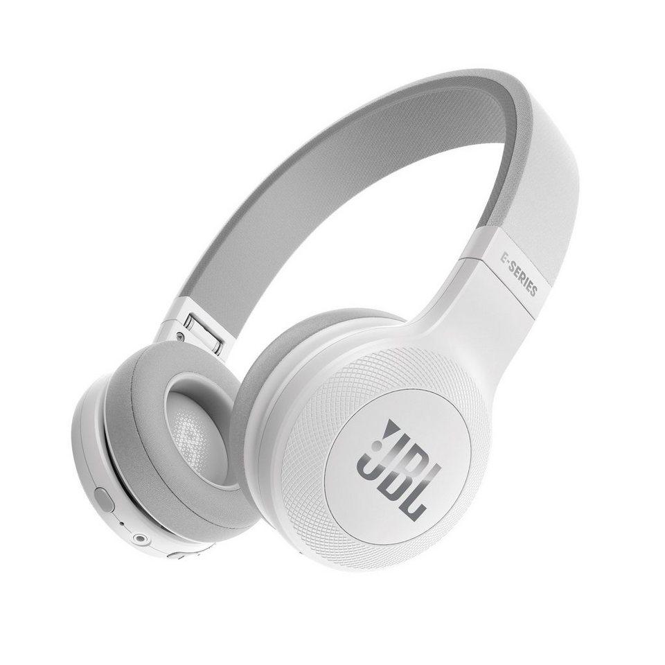 JBL OnEar Bluetooth Kopfhörer »JBLE45BT« in weiss