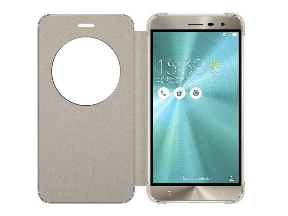 ASUS Schutzhülle »Flip Cover für ZenFone 3 (ZE520KL)« in gold