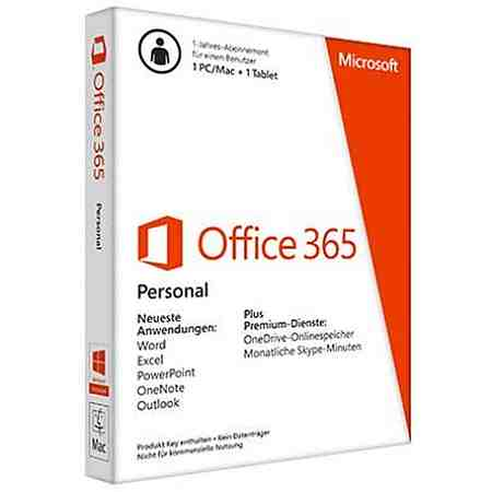 Microsoft Office-Pakete »Office 365 Personal«