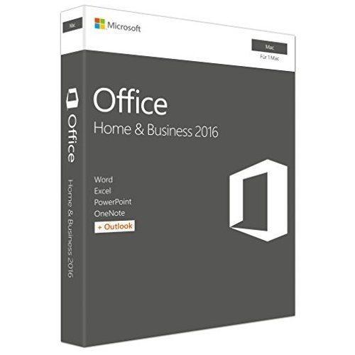 Microsoft Office-Paket »Office Home & Business 2016 (Mac)«