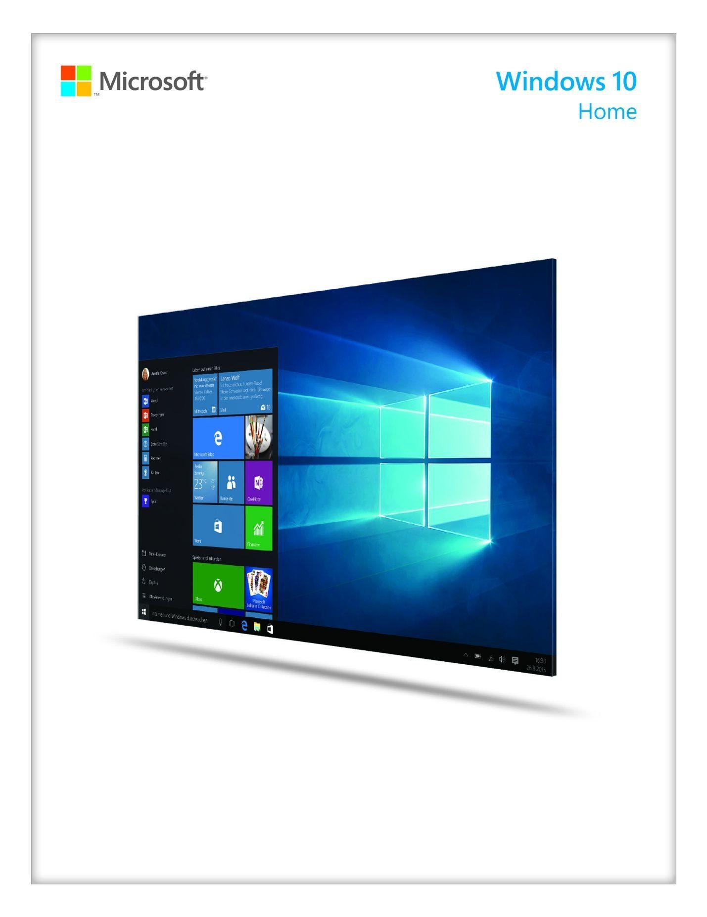Microsoft Einzelplatzbetriebssysteme »Windows® 10 Home 64bit OEM«