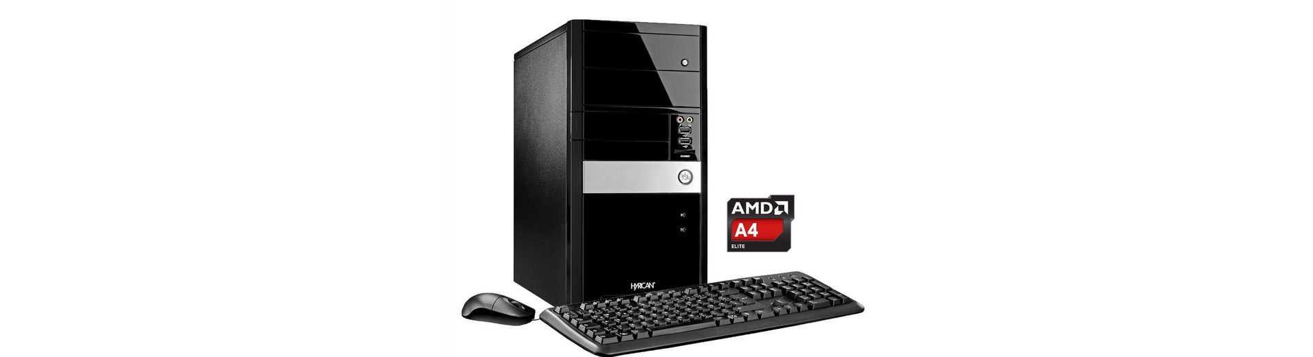 Hyrican PC AMD A4-7300, 8GB, 1TB, Microsoft® Office , W10 »Gigabyte Edition PC 5306«
