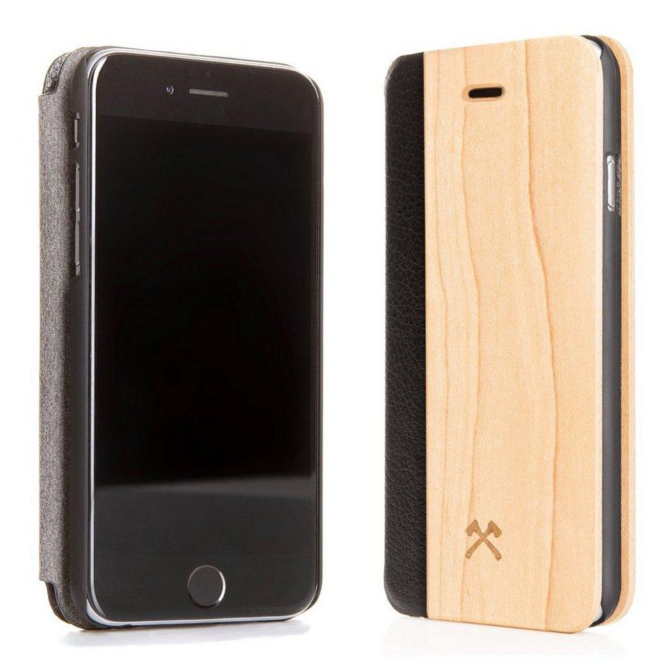 woodcessories ecoflip case backcover iphone 5 5s se aus echtholz kunstleder online kaufen otto. Black Bedroom Furniture Sets. Home Design Ideas