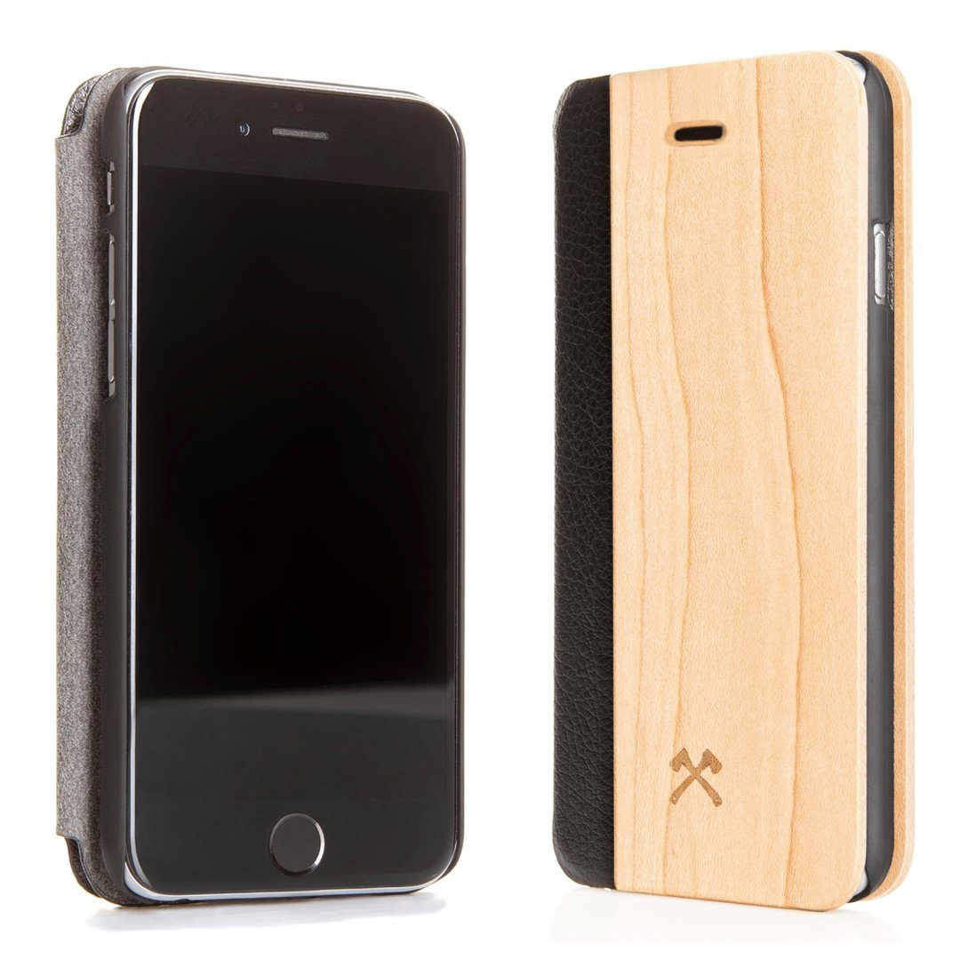 Woodcessories EcoCase - iPhone SE / 5 / 5s Echtholz Flipcase