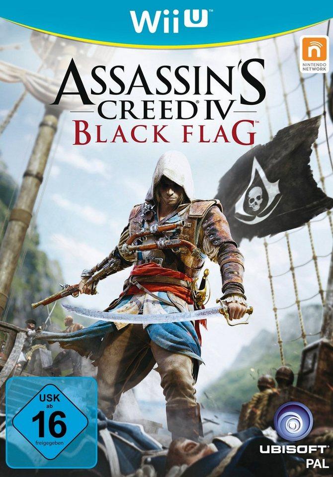 UBISOFT Software Pyramide - Nintendo WiiU Spiel »Assassin's Creed IV: Black Flag«