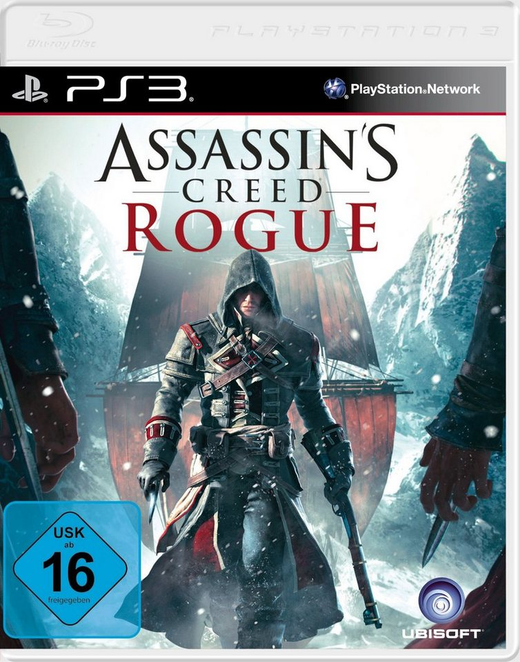 UBISOFT Software Pyramide - Playstation 3 Spiel »Assassin's Creed: Rogue«