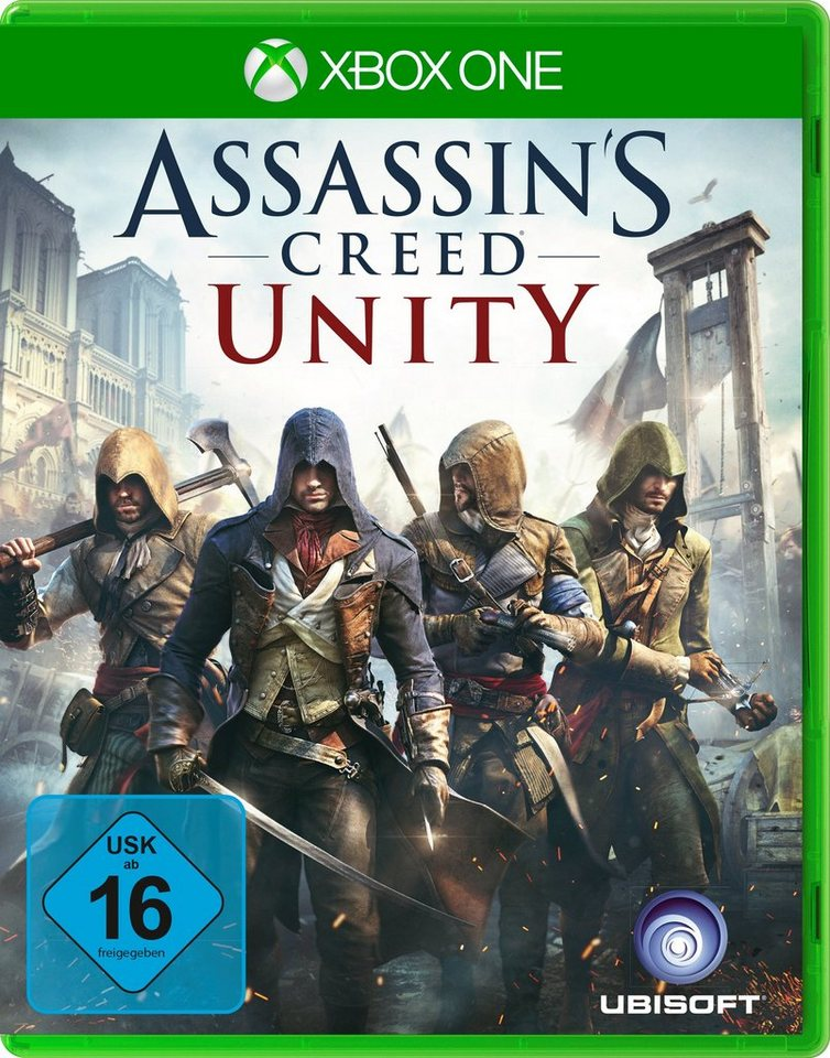 UBISOFT Software Pyramide - Xbox One Spiel »Assassin's Creed: Unity«