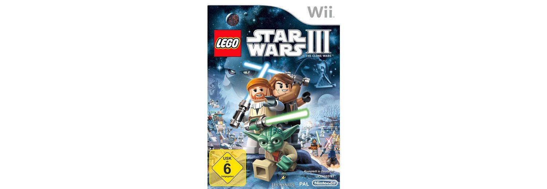 DISNEY Software Pyramide - Nintendo Wii Spiel »LEGO Star Wars 3: The Clone Wars«