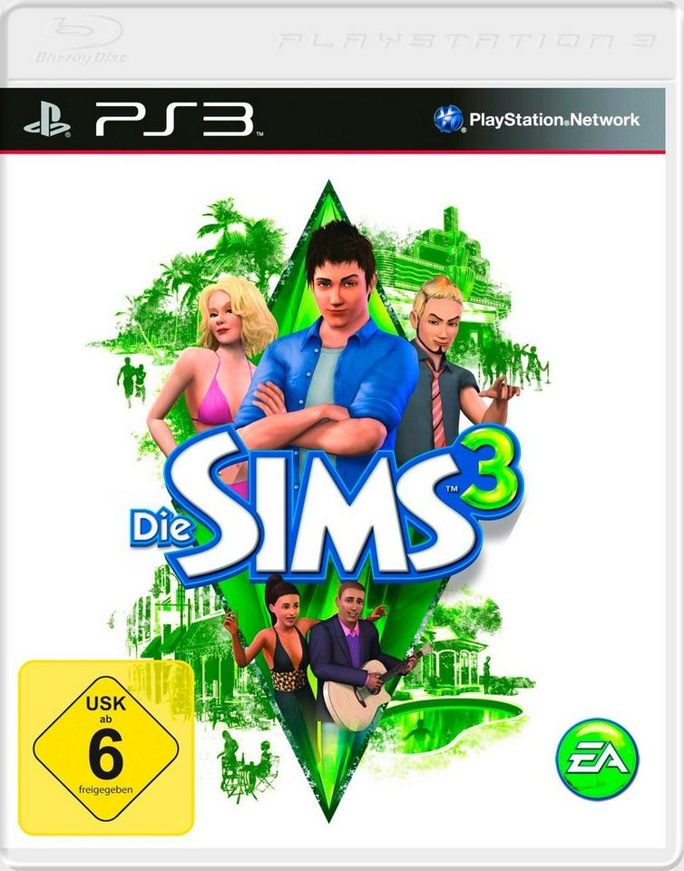 Electronic Arts Software Pyramide - Playstation 3 Spiel »Die Sims 3«