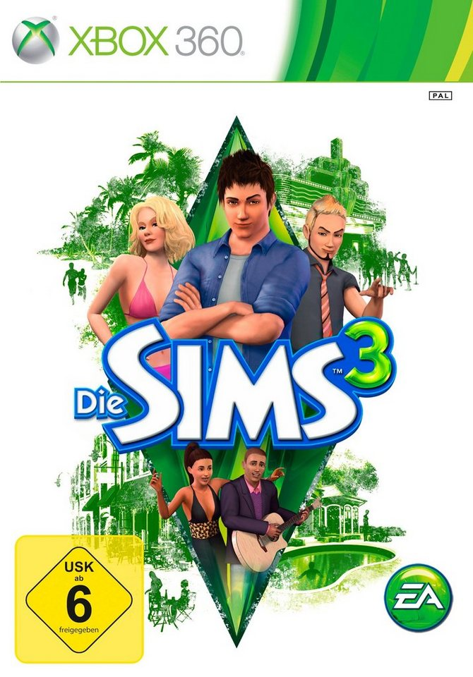 Electronic Arts Software Pyramide - Xbox 360 Spiel »Die Sims 3« - Preisvergleich