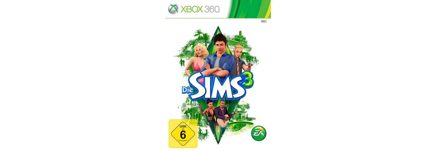 Electronic Arts Software Pyramide - Xbox 360 Spiel »Die Sims 3«